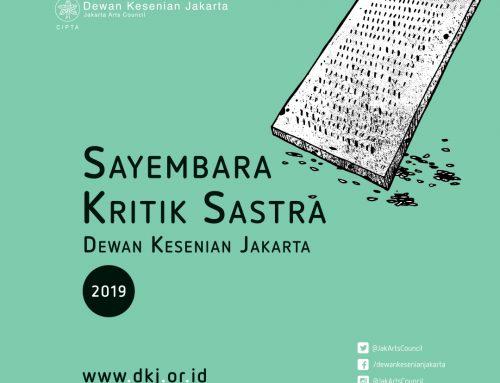 Sayembara Kritik Sastra Dewan Kesenian Jakarta 2019