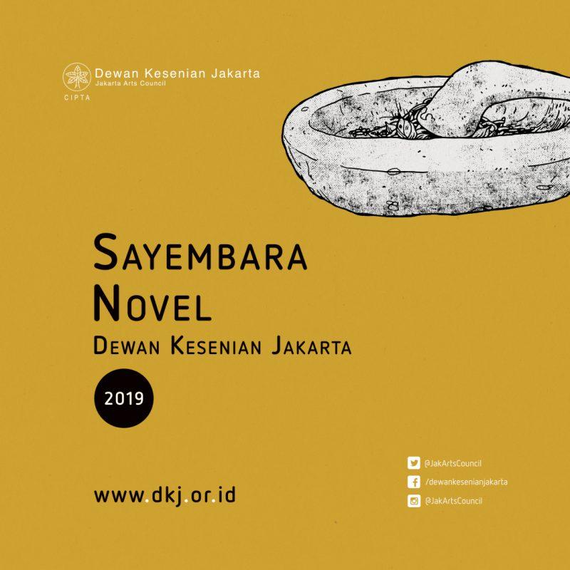 Sayembara Novel Dewan Kesenian Jakarta 2019