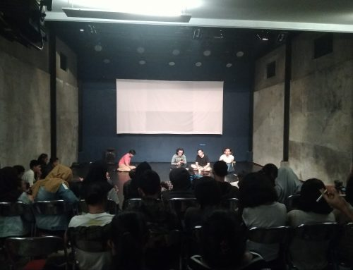 "Upaya Membuat 'Lingkungan' Penggembira dari open studio 7 hari 7 malam Teater Garasi ""Jalan Tikus"""