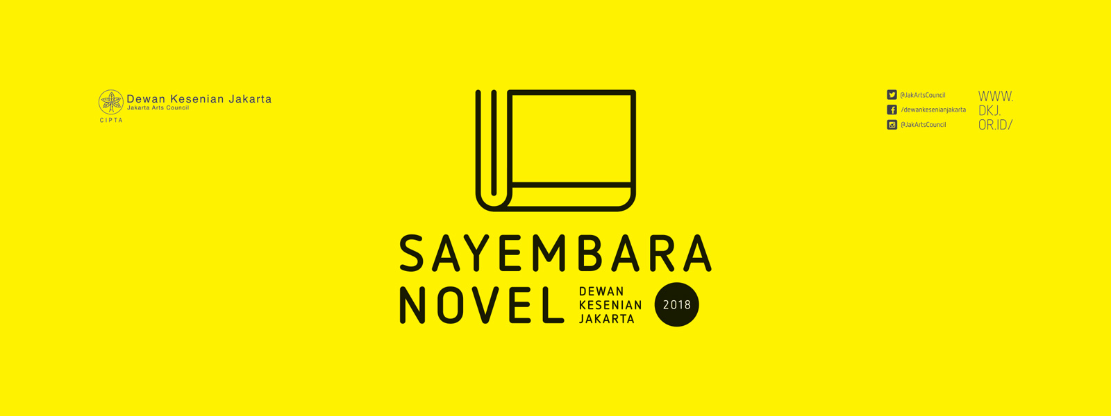 Sayembara Novel Dewan Kesenian Jakarta 2018