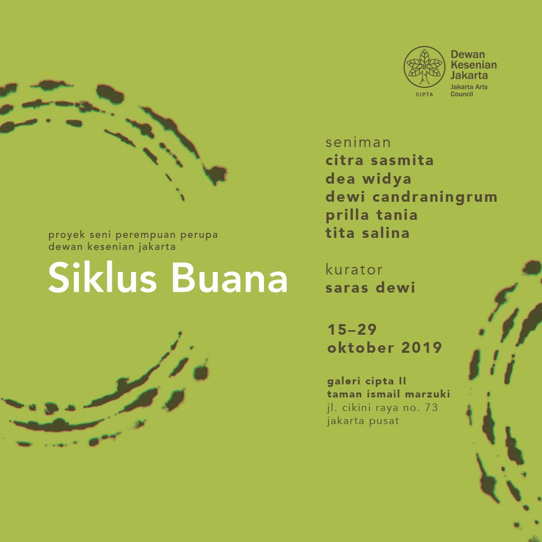 "Proyek Seni Perempuan Perupa 2019 ""Siklus Buana"""