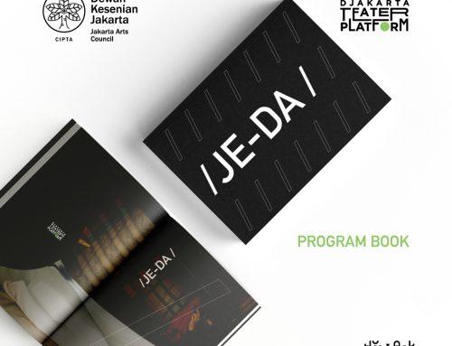 """Buku Program Djakarta Teater Platform """"JEDA"""" 2020"""