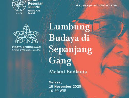 Pidato Kebudayaan 2020: Lumbung Budaya di Sepanjang Gang