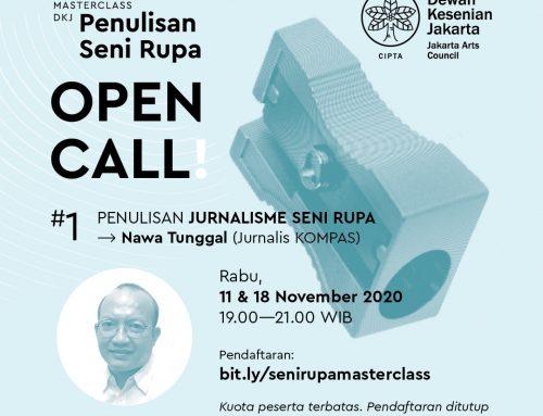 Open Call Kategori 1: Penulisan Jurnalisme Seni Rupa