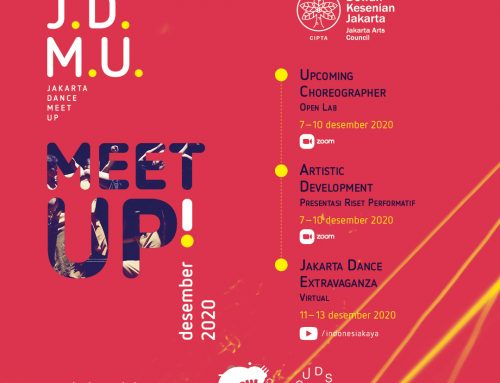 Leaflet Program Jakarta Dance Meet Up Virtual 2020