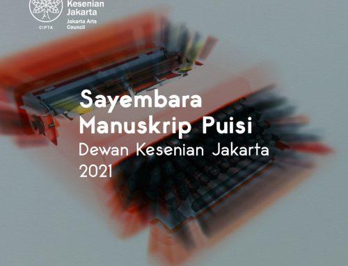 Sayembara Manuskrip Puisi Dewan Kesenian Jakarta 2021