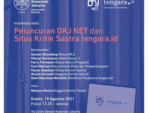 Peluncuran DKJ NET dan Situs Kritik Sastra tengara.id
